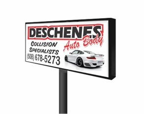 Lighted Box Signs
