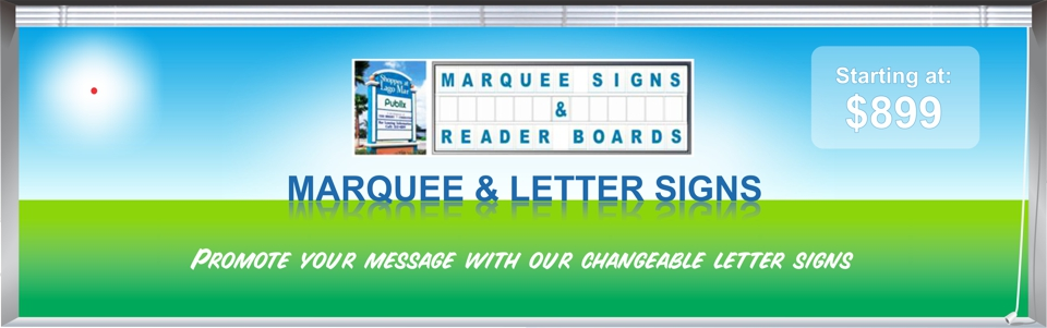 Lighted Marquee Signs Outdoor